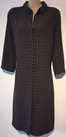 NEXT BROWN BUTTON THROUGH KNEE LENGTH SHIRT DRESS BNWT SIZE 10
